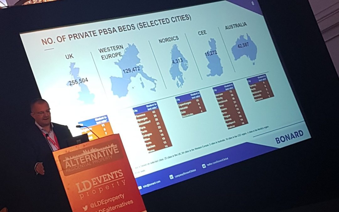 Samuel Vetrak shared latest global student housing trends at LD Alternative Residential Property Conference