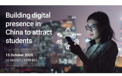 Building digital presence in China to attract students