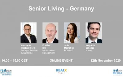 Real Assets Insight: German senior housing market needs international investors