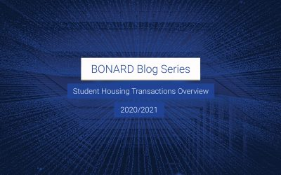 BONARD Blog Series #1: Student Housing Transactions in 2020/2021