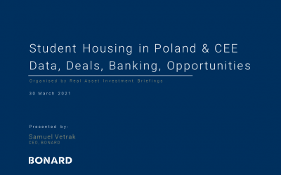 Student Housing in Poland & CEE Data, Deals, Banking, Opportunities