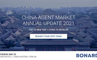 China Agent Market 2021 Annual Update: Top 10 New Tier 1 Cities to Develop